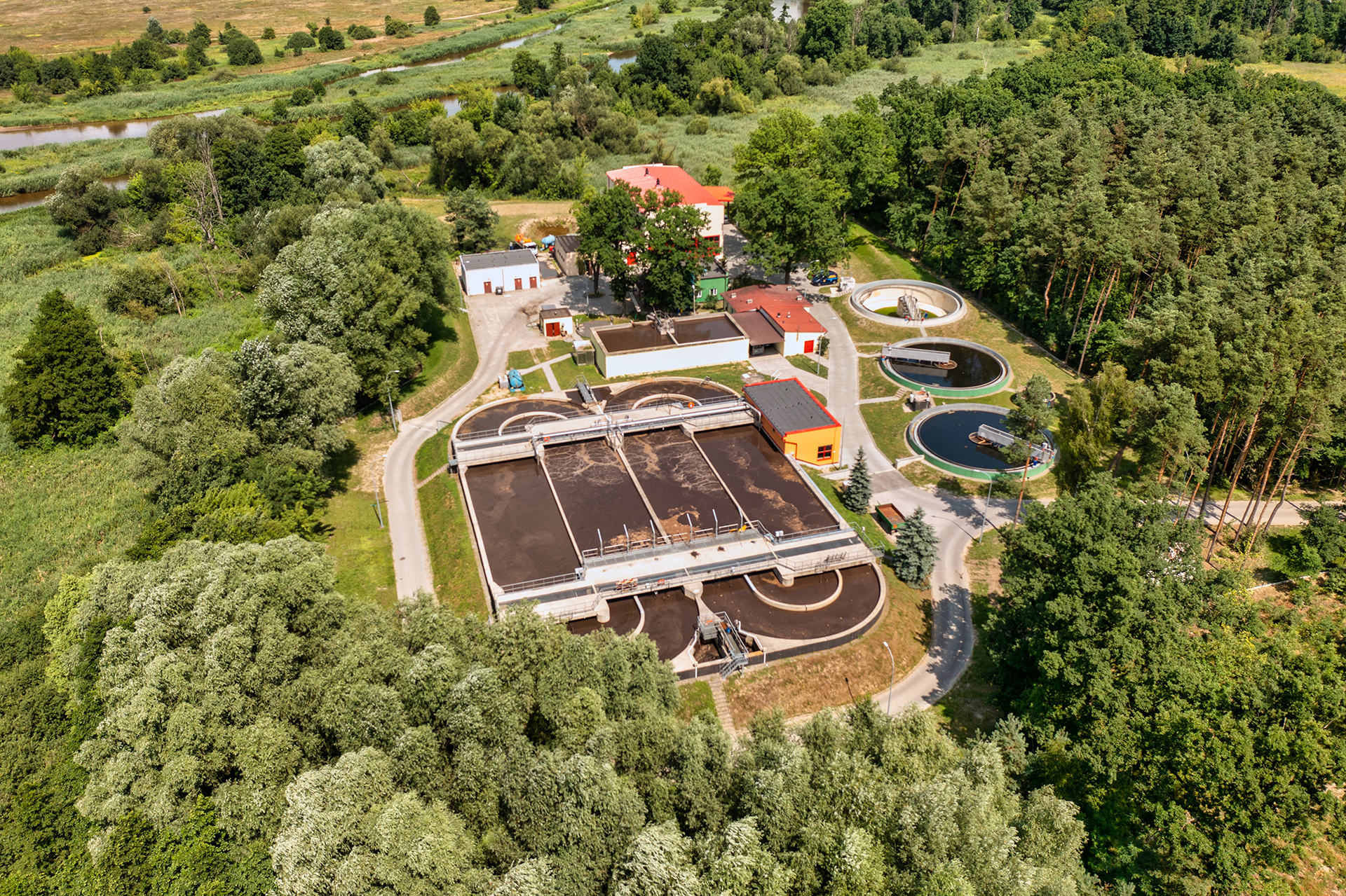 Oczyszczalnia ścieków w Białobrzegach 1